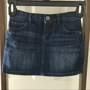 Little girls😇 Gap denim jean skirt